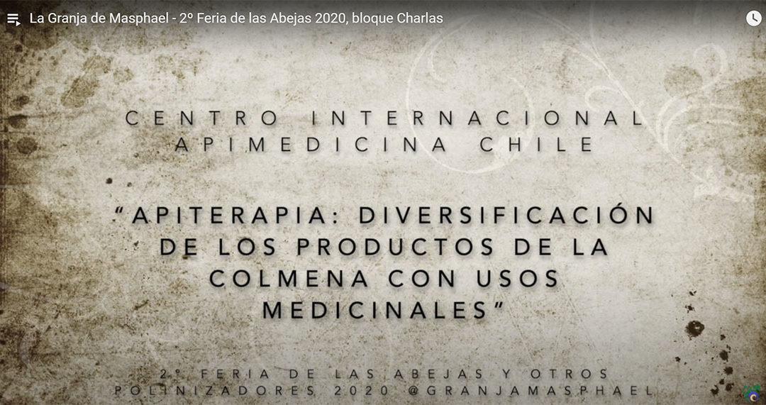 APIMEDICINA PARTICIPA EN 2° FERIA DE LAS ABEJAS 2020- ESPAÑA